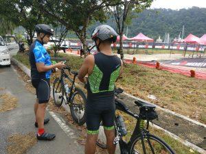 minimalistic cycling training in ironman