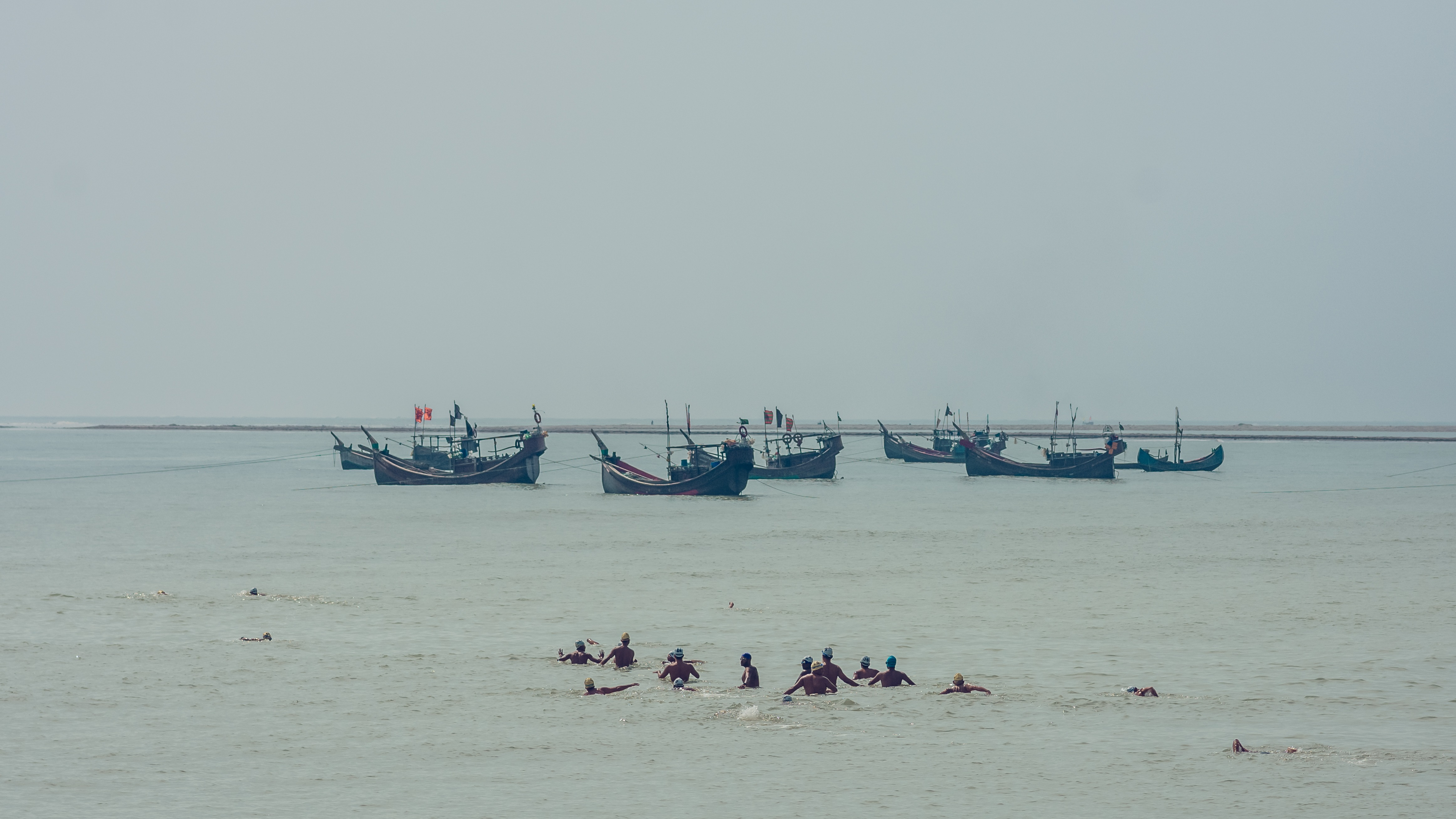 Bangla Channel 2019 in the sea