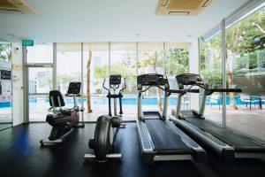 unning training for triathlon on treadmill