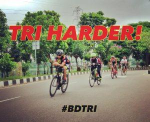 BD Triathletes motto