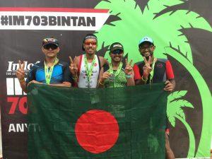 IRONMAN 70.3 Bintan Finish